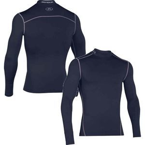 Under Armour ColdGear Compression Mock L/S Navy Lg